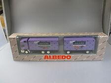 """Albedo:MAN Hängerzug """"Milka Lila Stars"""" Nr. 800002  (SSK54)"""