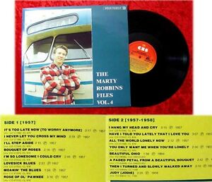 LP Marty Robbins Files Vol 4