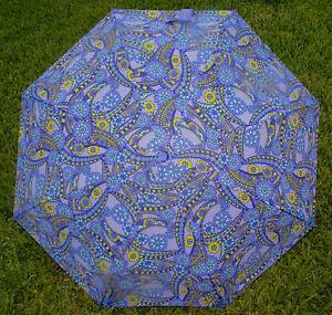 "Betsey Johnson - 42"" Umbrella Lavender Purple Violet ""Kaleidoscope Dreams"" *NEW"