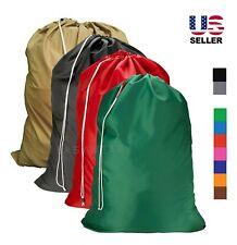 Laundry Bag Heavy Duty Drawstring Nylon College Home Large Jumbo 30x40 New