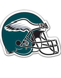Philadelphia Eagles Helmet Large Die Cut Car Magnet