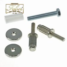 Faber iNsert-NG Bridge-Stud-Adapter Nickel Plated Gloss ein Paar InsertNG 3116-0