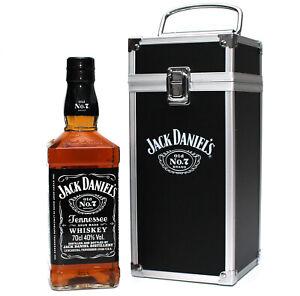 Jack Daniels Old No.7 - FLIGHTCASE Edition - Flugkoffer mit Sticker - 0,7l