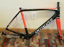 New 2017 Specialized tarmac Carbon fiber road bike frame / fork , size 56 No-RES