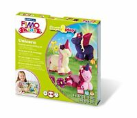 Staedtler Fimo Kids Unicorn Form and Play Set 8034 19 LZ. Novelty 2018.