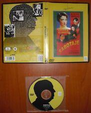 Sabotaje (La mujer solitaria) / Sabotage 1936 [DVD] Producciones JRB Hitchcock