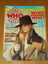 DOCTOR WHO #19 1980 FEB 20 BRITISH WEEKLY MONTHLY MAGAZINE DR WHO DALEK CYBERMEN