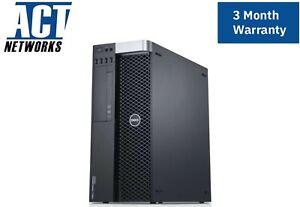 Dell T5600 1x E5-2620 6C/12T 2Ghz 16GB Ram 1TB HDD Q600 635W  W10P