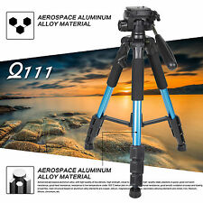 ZOMEI Q111 tragbare leicht Kompaktkamera Pro 140CM mit Stativ und Pan Head Blau