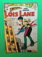 SUPERMAN's Girl Friend LOIS LANE #66 They call LOIS the CAT! DC Silver Age 1966