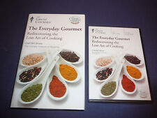 Teaching Co Great Courses DVDs    Everyday Gourmet  LOST ART of COOKING  + bonus