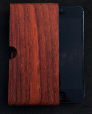 IPHONE 5/5S SE ROSE WOOD POUCH BY IWOODEN GENUINE REAL WOOD ULTIMATE PROTECTION