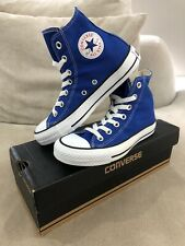 New CONVERSE Blue Chuck Taylor High Top Mens 3.5 US Womens 5.5 US Shoes [C129]