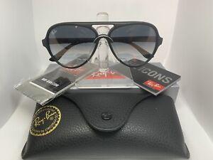 Ray-Ban CATS 5000 CLASSIC Sunglasses RB4125  - Matte Black / Gray Gradient