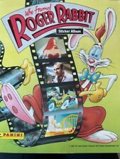 More details for who framed roger rabbit : panini sticker album from 1988 : 100% complete