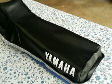 Yamaha XT350 XT 350 1984-2000 Seat Cover Black+strap (Y2--n8)
