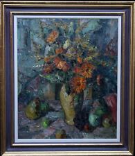 Elliott GEANT Floral Still Life British post impressionniste huile art 1886-1955