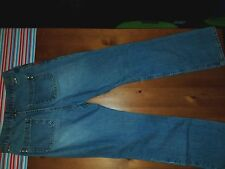 ZENA STONE WASHED BOOT CUT JEANS 8