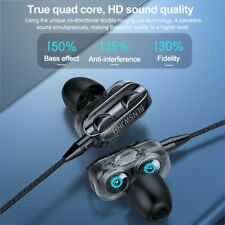 Earphone Headset For Cell Phone Tablet 3.5mm In-Ear Earbud Wired Headphone 2020