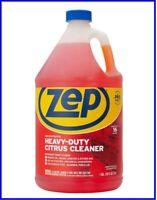 ZEP ZUCIT128CA Citrus Cleaner and Degreaser, Citrus Scent, 1 gal Bottle