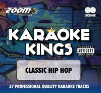 Zoom Karaoke Kings  - Classic Hip Hop - Double CD+G Set - Grime Gangsta Rap
