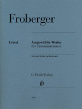 Henle Urtext Froberger Selected Works For Keyboard Piano Solo