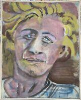Malerin Brigitte Tietze Berlin Portrait Halina 1991 Expressiv Ernst Schumacher