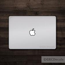 Apple Outline - Mac Apple Logo Laptop Vinyl Decal Sticker Macbook Decal Bold