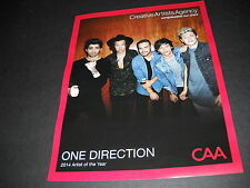 ONE DIRECTION 2014 Artist Of The Year PROMO POSTER AD mint condition