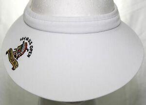 Vintage NWOT 104th US Open Shinnecock Hills Visor 2004 PGA Golf Hat WideBrim Cap