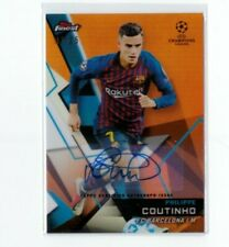 Topps Finest Champions League 2018 2019 Autograph Philippe Coutinho Barca Bayern