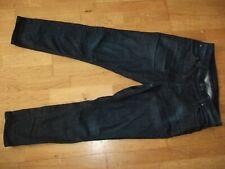 NUDIE Brute Knut Dark Depth Blue Slim Mens Dark Blue Organic Denim Jeans W30 L28