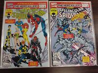 AMAZING 26 & SPECTACULAR SPIDER-MAN 12 ANNUAL NM++ SET MARVEL PA14-161