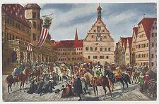 AK Einzug Tillys in Rothenburg o.T. 1631 (N315)