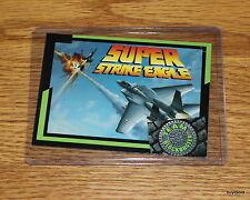 Rare & Collectible 1993 TEAM BLOCKBUSTER #36 Super Strike Eagle Game - Near Mint