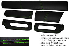GREEN STITCH FITS LOTUS ELISE EXIGE S1 96-01 FIVE PIECE DASH KIT COVERS ONLY