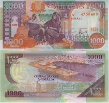 SOMALIE billet neuf de 1000 SHILLINGS Pick37b port de MOGADISHIO VANNERIE PANIER