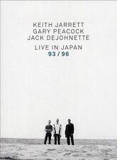 NEW Keith Jarrett/Gary Peacock/Jack De Johnette: Live in Japan 93/96 (DVD)