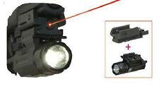 Pistol Laser Sight With Removeable Flashlight Fit's S&W SD9VE SD40VE Glock 17 22