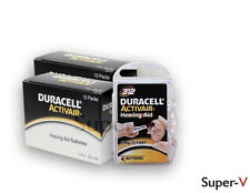 Duracell Activair Hearing Aid Batteries Size 312 (80 batteries total)
