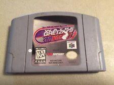 Wayne Gretzky's 3D Hockey Nintendo 64 N64 Authentic Good condition game cart