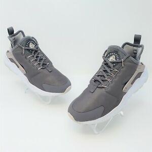 Nike Air Huarache Run Ultra Womens Gunsmoke Vast Grey Shoes Size 6.5 819151-016