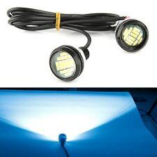 2pcs DC 12V 15W Eagle Eye LED Running DRL Backup Light Car Ice Blue Lamp Bulbs