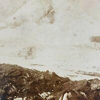 Keystone Stereoviewof  Lake /& Grytereids Glacier Norway From 1200 Card Set #266
