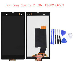 LCD Display Touch Screen Digitizer For Sony Xperia Z L36H C6602 C6603 W/Frame