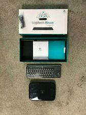 Logitech Revue with Google TV Media Streamer And Wireless Keyboard