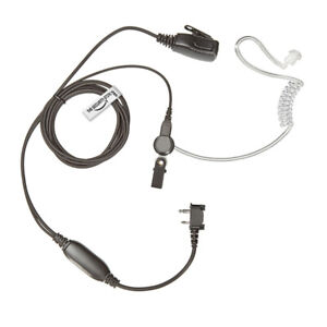 THE-SECURITY-STORE Covert Earpiece for ICOM Radio - Screw In 2 Pin