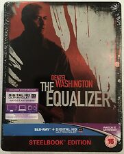 The Equalizer Steelbook - UK Exclusive Limited Edition Blu-Ray **Region Free**