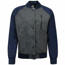Nike Womens Varsity Bomber Jacket Grey Navy 394688 071