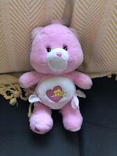 "Baby Hugs Care Bear 2002 Pink wearing Diaper Nappy 10"" Tcfc Plush Stuffed Toy"